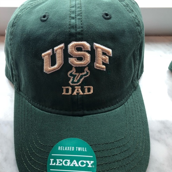 Green USF University of South Florida Dad Hat. NWT. legacy c9e675885096